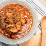 番茄鯖魚燉燕麥