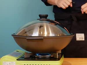 蛤蠣鮮蝦義大利麵peperoncino|WOKY沃廚極岩炒鍋