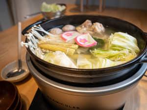 鹽雞肉相撲鍋做法
