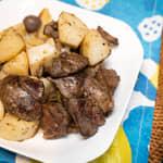 雞肝炒馬鈴薯|西班牙風格餐前小食Tapas