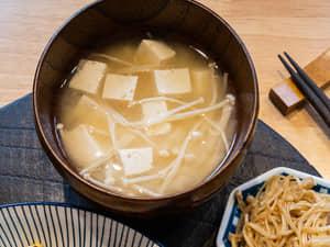 金針菇豆腐味噌湯|全聯省錢食譜