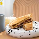 貓王三明治作法 Elvis Sandwich