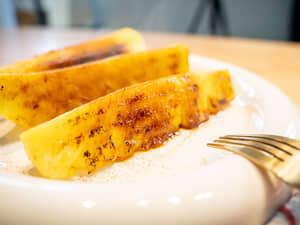 巴西風味肉桂烤鳳梨Grilled Pineapple