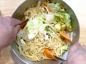 7-11食材「減肥料理」,小資族減脂餐|沙拉義大利涼麵,不到500卡