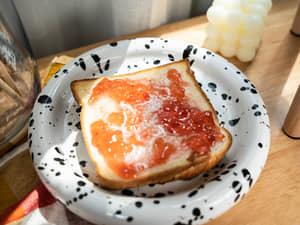 草莓奶油吐司 日本喫茶店經典午茶
