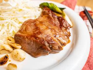 日本三重縣名物|醬煎霜降豬排トンテキ ft.陞煇食品霜降豬肉