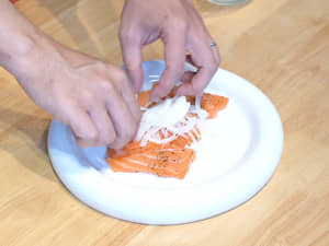 Carpaccio意式涼拌生鮭魚片|costco好市多挪威鮭魚