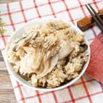 雞肉牛蒡百菇炊飯