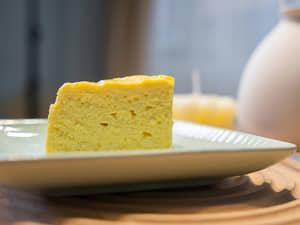 豆腐優格零麵粉蛋糕|低卡高蛋白的健身甜點