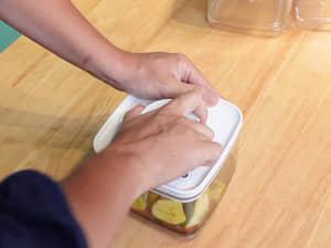 黃瓜柑橘醋醬油淺漬,一次做一週份|ANKOMN旋轉真空保鮮盒