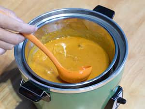電鍋版奶油雞肉印度咖哩|免手炒超綿密