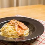 冷燻鮭魚奶醬義大利麵|紐西蘭庫克山帝王鮭