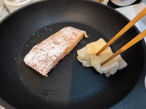 奶油香煎鮭魚排Salmon Meuniere|紐西蘭庫克山帝王鮭