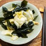 高麗菜炒海帶