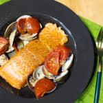 義式水煮熱燻鮭魚(Acqua Pazz)|紐西蘭庫克山帝王鮭