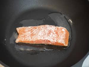 日式定食,鮭魚味噌燒|紐西蘭冰河帝王鮭