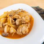 茄汁煮雞腿肉|用氣泡水煮更軟嫩