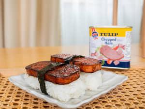 沖繩午餐肉飯糰|スパムおにぎり