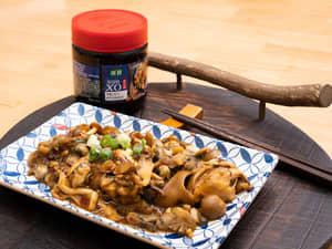 XO醬牡蠣炒百菇