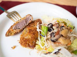 洋風炸豬排|特製的麵衣超美味