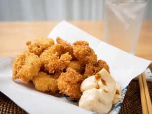 Tabasco辣椒醬炸蝦