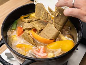 全植物製!新肉絲野菜咖哩飯