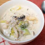 百菇野菜奶油濃湯