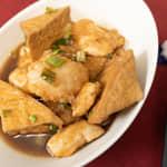 和風燴雞肉油豆腐