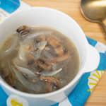 鯷魚蘑菇湯|鯷魚罐頭的妙用