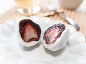 超簡單,草莓大福做法|いちご大福