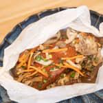 燻鮭奶油醬燒紙包魚|伊萊克斯5L氣炸鍋